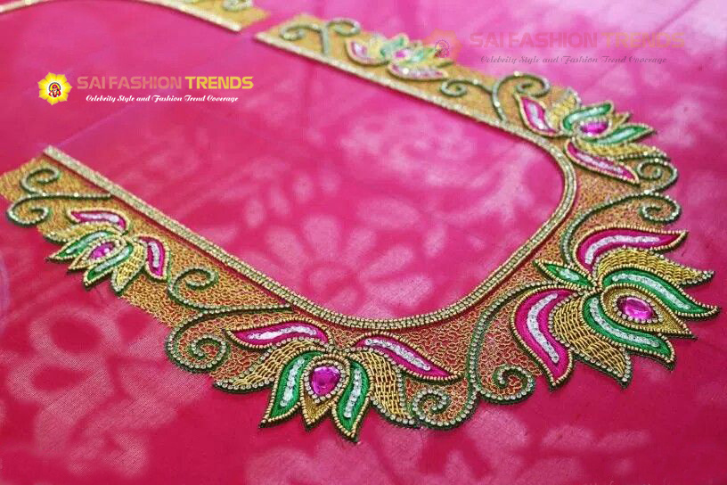 Simple Blouse Designs With Work:  Ladies Tailoring And Bridal Blouse Designingrh:saifashiontailor.com,Design